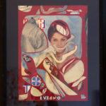 Nadin, Sophia, Loren ou Eve, 2017, 38 x 29 cm, collage, 159 Euros